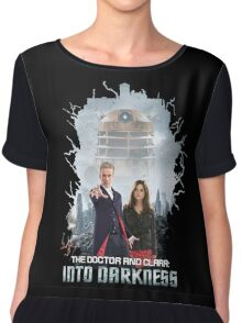 The Doctor and Clara: Into Darkness Chiffon Top
