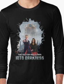 The Doctor and Clara: Into Darkness Long Sleeve T-Shirt