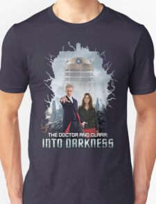 The Doctor and Clara: Into Darkness Unisex T-Shirt