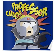 South Park Professor Chaos Poster