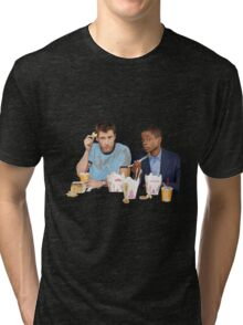 Shawn & Gus + Chinese Food Tri-blend T-Shirt
