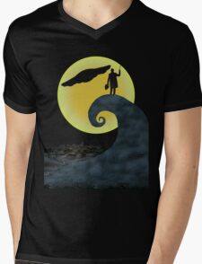 The Doctor's Nightmare Before Christmas Mens V-Neck T-Shirt