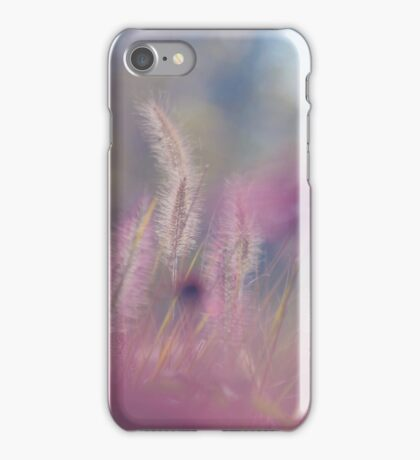 Calm is all nature as a resting wheel. iPhone Case/Skin