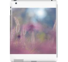 Calm is all nature as a resting wheel. iPad Case/Skin