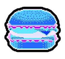 pixel burger Photographic Print