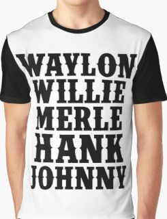 Country Legend Graphic T-Shirt
