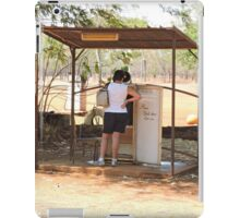Drysdale River Station, telephone booth/retired refrigerator iPad Case/Skin