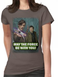 Use the Force, Doctor Jedi (Realistic) Womens Fitted T-Shirt