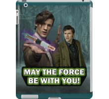 Use the Force, Doctor Jedi (Realistic) iPad Case/Skin