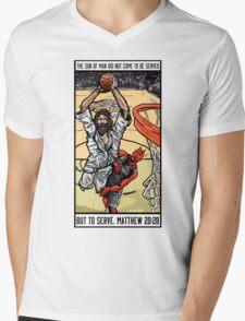 Ball is Life Mens V-Neck T-Shirt