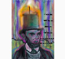 Abraham Lincoln Candle psychedelic stovepipe hat Unisex T-Shirt