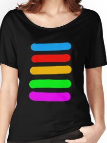 Graffiti Colours Women's Relaxed Fit T-Shirt
