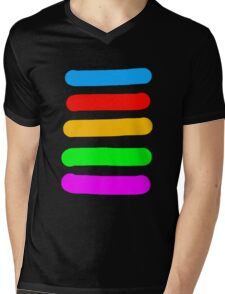 Graffiti Colours Mens V-Neck T-Shirt