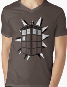 Type 40 TARDIS Mens V-Neck T-Shirt