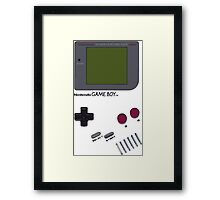 Vintage Game Boy Framed Print