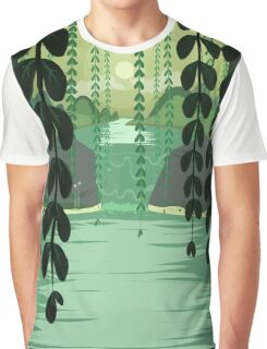 Misty Marsh Graphic T-Shirt