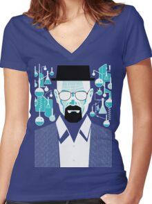 Walt - Breaking Bad Women's Fitted V-Neck T-Shirt