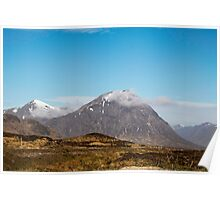A mountain view Poster