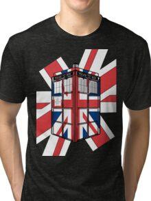 Type UK TARDIS Tri-blend T-Shirt