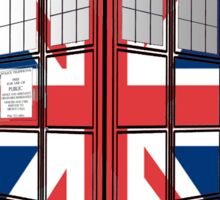 Type UK TARDIS Sticker