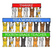 Thanks to wonderful 4th Grade teacher by KateTaylor