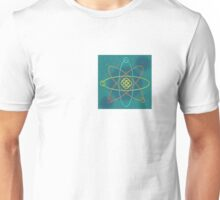 Celtic Line Atomic Structure Unisex T-Shirt