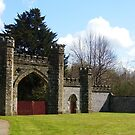 Entrance to Slindon Woods by Malcolm Chant