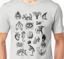 Cabinet of curiosities 2 Unisex T-Shirt