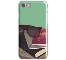 Travellers Side Table iPhone Case/Skin