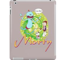 morty and alameeseeks iPad Case/Skin