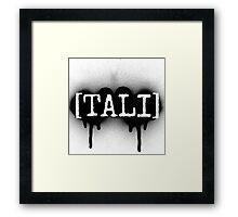 Tali logo Framed Print