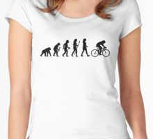 Women's Cycling Evolution Women's Fitted Scoop T-Shirt