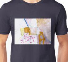 interior with constellation rug Unisex T-Shirt