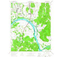 USGS TOPO Map Alabama AL Farley 303818 1964 24000 Photographic Print