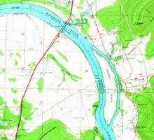 USGS TOPO Map Alabama AL Farley 303818 1964 24000 Sticker