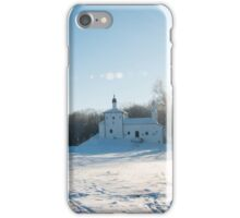 The Church on the hill iPhone Case/Skin