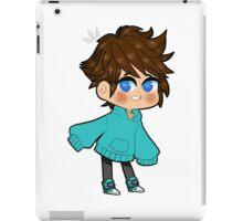 chibi sora right iPad Case/Skin