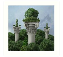 Classical - Sky High Horticulture Art Print