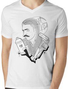 Vandal Life Mens V-Neck T-Shirt