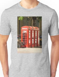 Red Phone Boxes Unisex T-Shirt