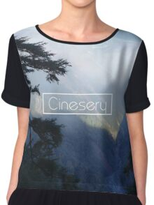 Cinesery x 2016 Spring Edition x Serenity Chiffon Top