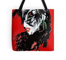 Raven - Red Tote Bag