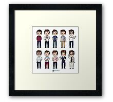 Outfits NYC Framed Print