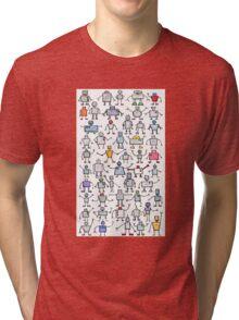 Robots, robots, robots!!! Tri-blend T-Shirt