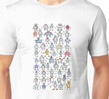 Robots, robots, robots!!! Unisex T-Shirt