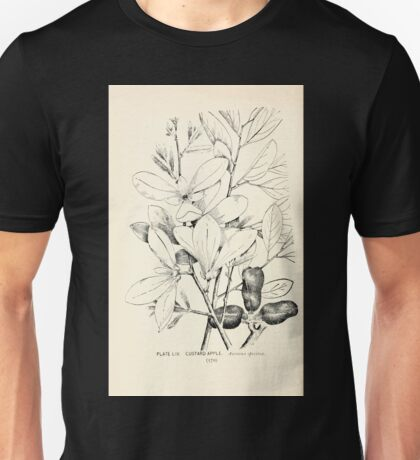 Southern wild flowers and trees together with shrubs vines Alice Lounsberry 1901 054 Custard Apple Unisex T-Shirt