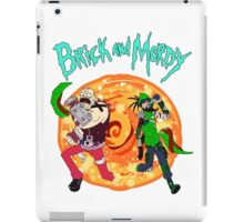 brick and mordy iPad Case/Skin