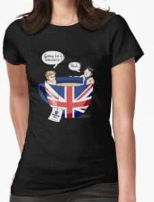 Sherlock, a quick summary Womens Fitted T-Shirt