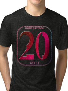Placebo - twenty years Tri-blend T-Shirt