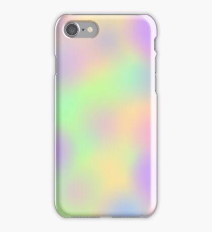 Nice pastel colours iPhone Case/Skin